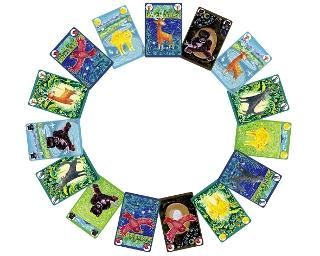 Isegrim - Karten im Kreis ausgeteilt